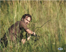 ANDREW LINCOLN SIGNED 11X14 PHOTO WALKING DEAD BECKETT BAS AUTOGRAPH AUTO E