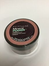 Maybelline Mineral Power Naturally Luminous Blush ( CLASSIC MAUVE II ) NEW.