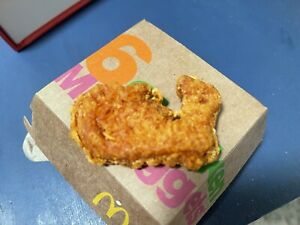 McDonalds chicken nugget(Whale Shape)