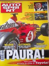 AUTOSPRINT n°13 2003 I segreti della Mc Laren MP4-18   [P61]