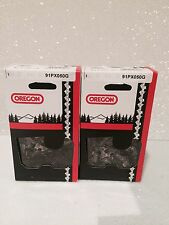 """2 Pack Oregon 91PX050G Chainsaw Chain 14"""" 3/8 .050 63PMC3 50 S50"""