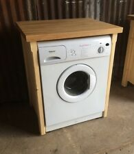Oak Top Appliance Gap Tumble Dryer Washing Machine Cover Utility Laundry Room