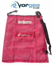 Vorgee Swimming Bag Mesh Hot Pink 60cm x 50cm / Swim Bag Mesh
