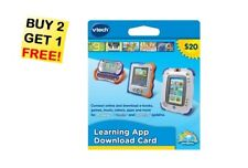 Vtech Learning App Download Card ~ e-Books ~ Games ~ Music ~Videos ~ GREAT GIFT