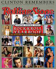 Rolling Stone 12/00,Rock and Roll Yearbook,Bill Clinton,December 2000,NEW