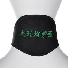 Black Self Heating Magnetic Therapy Tourmaline Pain Relief Neck Wrap Collar GP