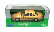 Welly 1999 Ford Crown Viktoria Modell Taxi 1:24