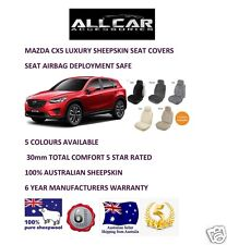Sheepskin Car Seatcovers for Mazda CX5 , Five colours, Seat Airbag Safe 30mmTC