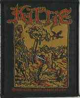 KITTIE woodcutter 2001 WOVEN SEW ON PATCH official merchandise - no longer made