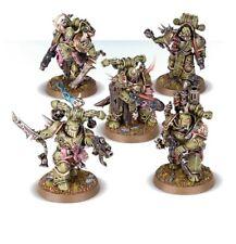 5 Death Guard Plague Marines with Plasma gun - Warhammer 40k