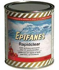 Epifanes Rapidclear Marine Varnish semi gloss wood protection  750ML Rapid