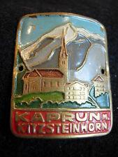 Kaprun m Kitzsteinhorn Used badge stocknagel hiking medallion G4555