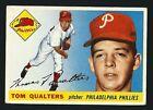 Tom Qualters -1955 Topps Baseball Card # 33 - Philadelphia Pillies Pitcher