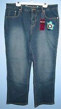 "Women's Size 34"" Santana Jeans with Embroidered Flower + Embelished Back Pockets"