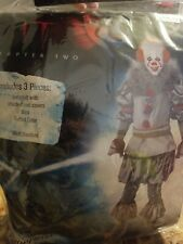 It Chapter Two Pennywise Costume Mask & Costume Size Standard #746.