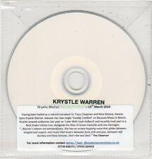 (ET755) Krystyle Warren, Sunday Comfort - 2009 DJ CD