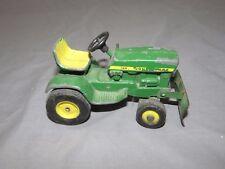 Vintage John Deere 140 Lawn Garden 1/16 Toy Tractor Ertl with Front Blade