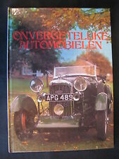 Rebo Book Onvergetelijke Automobielen Bill Boddy (Nederlands) (JvH)