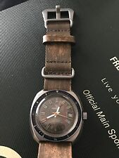 Vintage Yema Watch Sports Racing French Mechanical Automatic Omega Rally