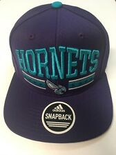 Nba Adidas Charlotte Hornets Adult SnapBack Cap Hat Brand New Very Nice #3
