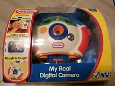 Little Tikes My Real Digital Camera w/LCD Screen NEW Rough & Tough 1000 photos