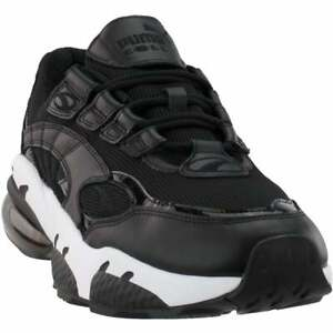 Puma Cell Venom Reflective Lace Up  Mens  Sneakers Shoes Casual   - Black - Size