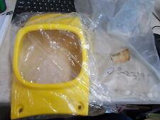 NOS OEM Yamaha Front Competition Yellow Panel 1981-1985 YT125 YT175 4U3-23391-00