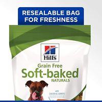 Delicious, soft, grain free dog treats Chicken & Carrots 8-Ounce Bag