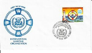 1989 Philippines FDC IMO International Maritime Organization Lighthouse #2010