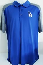 Men's Majestic Royal/Gray Los Angeles Dodgers TX3 Cool Polo W/XTRA ACCESSORIES