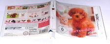 "NINTENDO 3DS SPIEL "" NINTENDOGS ZWERGPUDEL + CATS "" KOMPLETT"