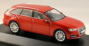 Audi A4 Avant B9 2015-19 Type: 8W Tango Red 1:43 Spark
