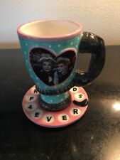 """RARE Vandor I Love Lucy """"Friends Forever""""cup And Saucer."""