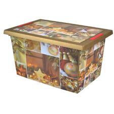 Weihnachts-Aufbewahrungsbox Christbaumkugeln Weihnachtsdeko Kiste Rollenbox