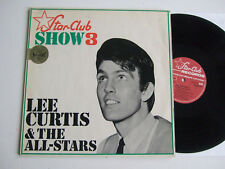 Lee Curtis & The All-Stars Star-Club show 3 HI-FI STEREO 158 002 STY'65 the all