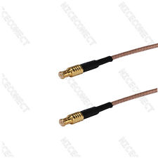 MCX plug to male straight adapter RF pigtail Coax cable RG316 30cm