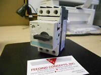 Siemens 3RV1021-1CA10 Sirius 3r 1-1//2hp Manual Motor Starter 1.8-2.5a