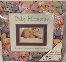 New listing Large Baby Moments Acid-Free Die-Cut Photo Album New