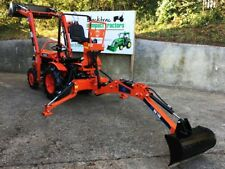 KUBOTA B7000 4WD COMPACT / SMALL TRACTOR WITH FRONT LOADER, BACKHOE, MINI DIGGER