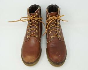 Vintage Timberland Boots Made in USA Men's Genuine Leather Desert Brown US 8