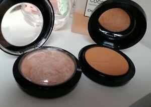 "MAC Set Mineralize Skinfinish Natural Bronzer ""Give me Sun☀️+Highlighter""!!"