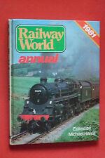 RAILWAY WORLD 1981 ANNUAL DELTIC DP2 DIESEL PROTOTYPES ELECTRIC STEAM TRAIN