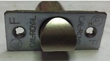 """CAL-ROYAL Passage/Privacy Spring Latch 2 3/4"""" Stainless Finish"""