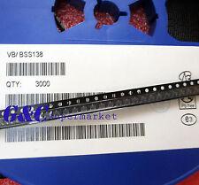 100PCS BSS138 MOSFET N-CH 50V 220MA SOT-23 NEW  R12