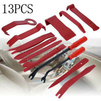13Pcs Car Trim Removal Tool Hand Tools Pry Bar Panel Door Interior Clip Kit Set