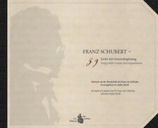 Franz Schubert - 39 Songs with Guitar Accompaniment - new copy, from the editor