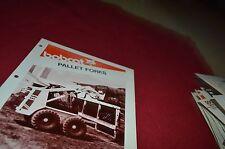 Bobcat Skid Loader Pallet Forks Attachment Dealers Brochure DCPA2