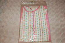 "Pyjama Vintage Fille rose et blanc 14 ans ""motif fleurs"""