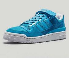 ⚫ 2007 Vintage Adidas Originals Forum Lo Rs ® (hombres Reino Unido 9 EUR 43.5) AQUA Azul