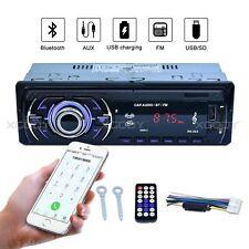 Autoradio Bluetooth stéréo respectais FM USB SD AUX lecteur mp3 4x60w 1din Audio